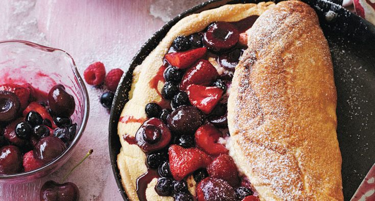 Manu Feildel. Omelette Soufflé with Berries. Adelaide. Eats. Recipe. InDaily.