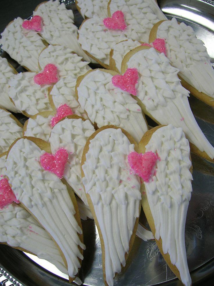 Angel Cookies (; #easter | Tis' the Season! | Pinterest