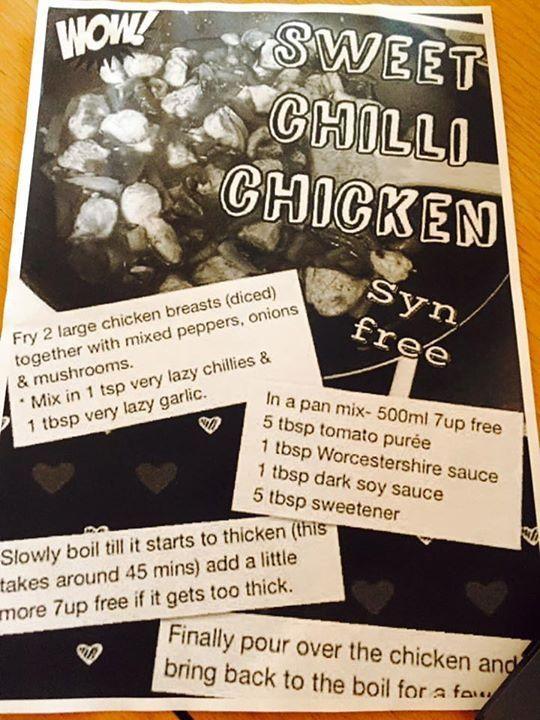 7up sweet chilli chicken