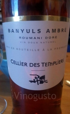 Very good white wine. Cellier des Templiers, Languedoc, France.