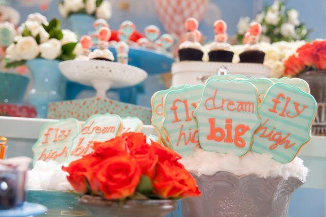 Biscoitos - Festa tema Balões | Macetes de Mãe