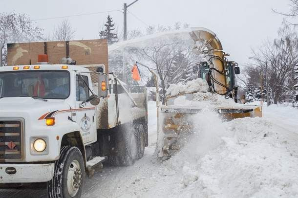 """An """"extraordinary"""" amount of snowfall this winter has walloped the Town of Olds' snow removal budget. The town is now looking at raising taxes to help cover the costs of snow removal during the winter. CLICK ON PHOTO FOR LARGER IMAGE Noel West/MVP Staff file"""