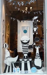 store front window...