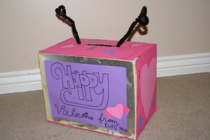 Mommy Lessons 101 Creative Valentine Box 7 Television