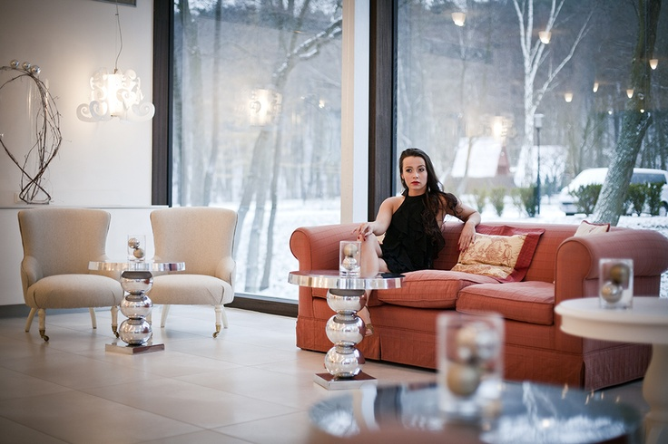 Conference lobby at Dwór Oliwski Hotel # Gdansk # Poland