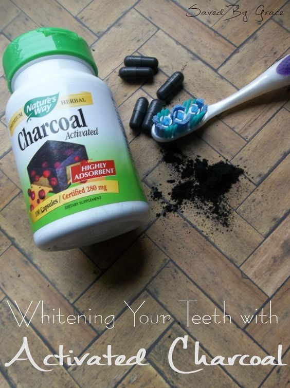 Brushing Teeth with Activated Charcoal- a natural, low cost way to get whiter teeth!:
