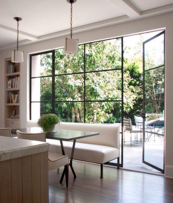 cool window - instead of bi fold doors?