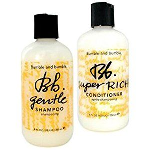 Bumble And Bumble Gentle Shampoo 8-Ounces & Bumble And Bumble Super Rich Conditioner 8-Ounces