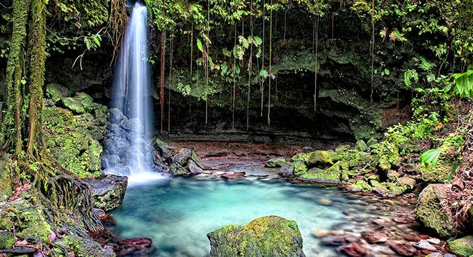 Dominca - Tropical surroundings just beg to be explored
