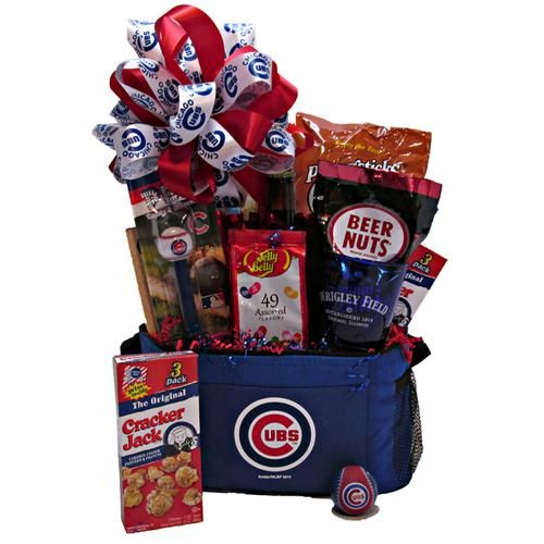 14 best chicago gift baskets images on pinterest gift baskets cubs cooler gift basket negle Choice Image
