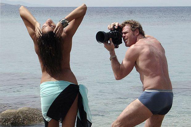 Patrick Van Dam Shows Humorous Behind The Scenes Set at a Playboy Shoot