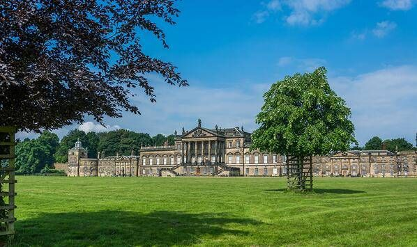 Wentworth Woodhouse is twice the size of Buckingham Palace, has 365 rooms, inspired Mr. Darcy's estate in Jane Austen's classic, and could be yours for £7 million.