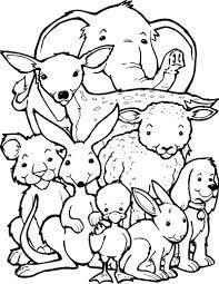 google coloring pages animals - photo#8