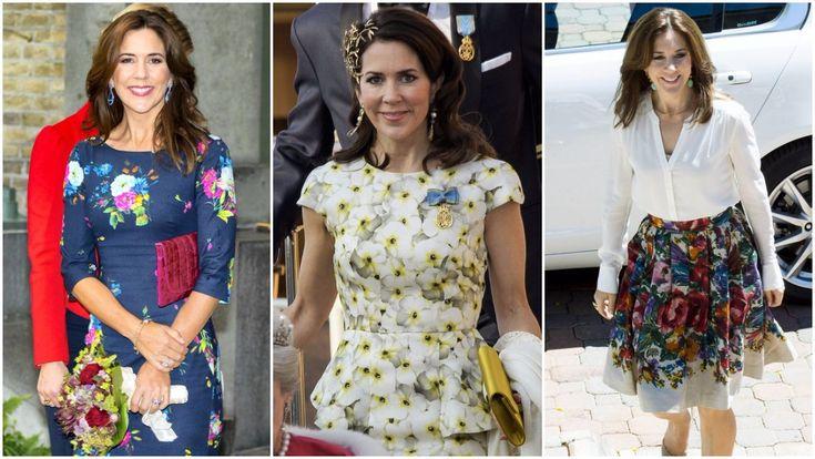 Vi har samlet et dejligt forårsgalleri med kronprinsesse Marys flotte kjoler, skjorter og nederdele, der emmer af forår og blomster.