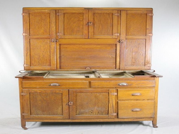 17 best images about hoosier cupboard on pinterest for Antique kitchen cabinets