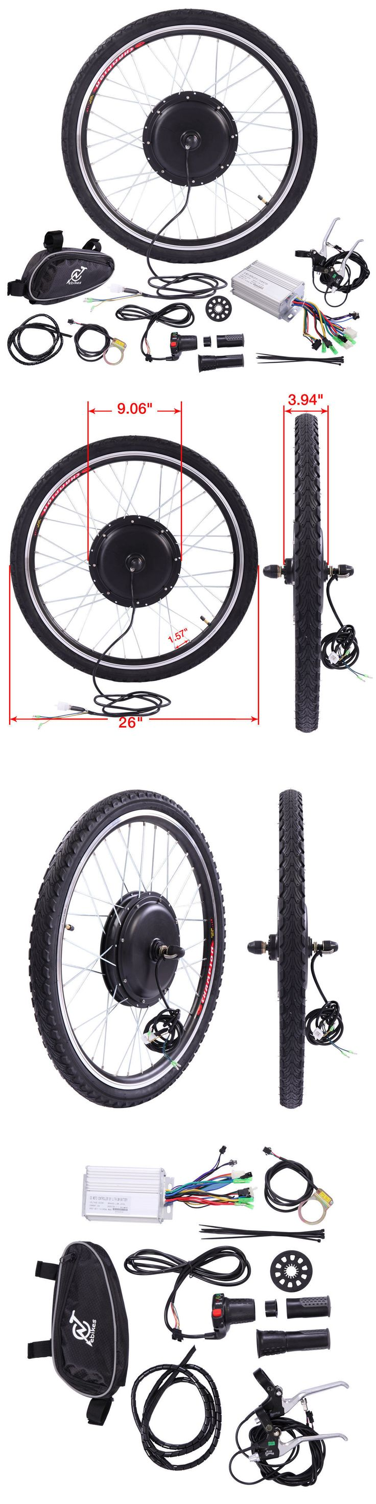 Electric Bicycles 74469: 36V Front Wheel Electric Bicycle Motor Conversion Hub Kit 500W 26 Ebike Cycling -> BUY IT NOW ONLY: $127.99 on eBay!
