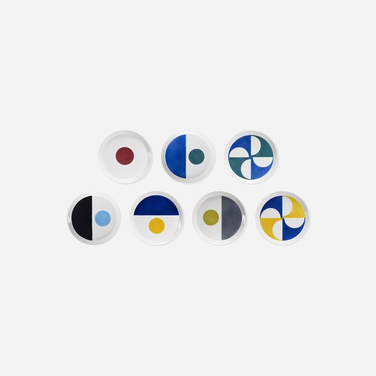 245: Gio Ponti / plates, set of seven < Important Design, 11 December 2014 < Auctions | Wright