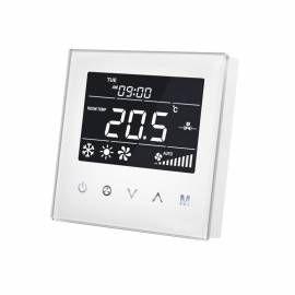 MCOHOME - Thermostat pour ventilo-convecteur à 2 tubes Z-Wave+ de face