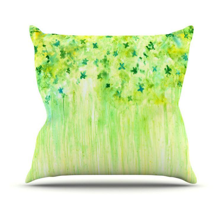 Kess InHouse Rosie Brown April Showers Indoor/Outdoor Throw Pillow - RB1027AOP02