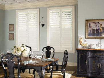 Plantation Shutters - Traditional - Dining Room - orange county - by Budget Blinds