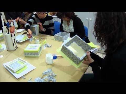 Loja e Atelier Feito Por Mim, na Cidade do porto - Como forrar caixas