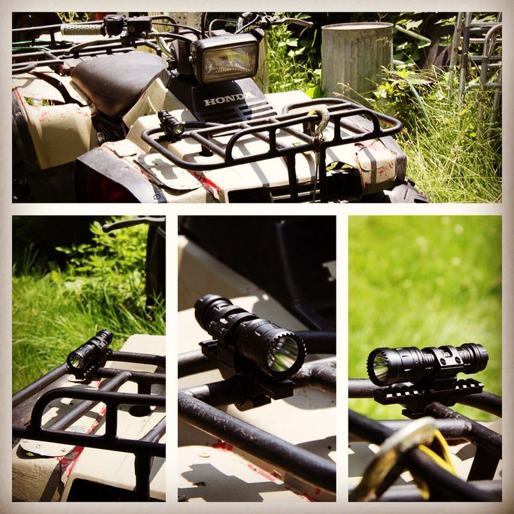 HardCore Riders Rail® a Great new way to use our Tactical Flashlights Mounts for a military / law enforcement and civilian use… Developed and patented to mount our high quality CenturioLight® to your atv or to be mounted on a offroad roof rack or ATV / quad bike or motorcycle. This is also a great option to use for our PugioLight® G3.  If for the Military that standard great then it should also be a very good standard for extreme athletes or sports fans such as Survival / Adventure…