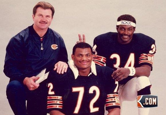 Ditka, Perry and Payton