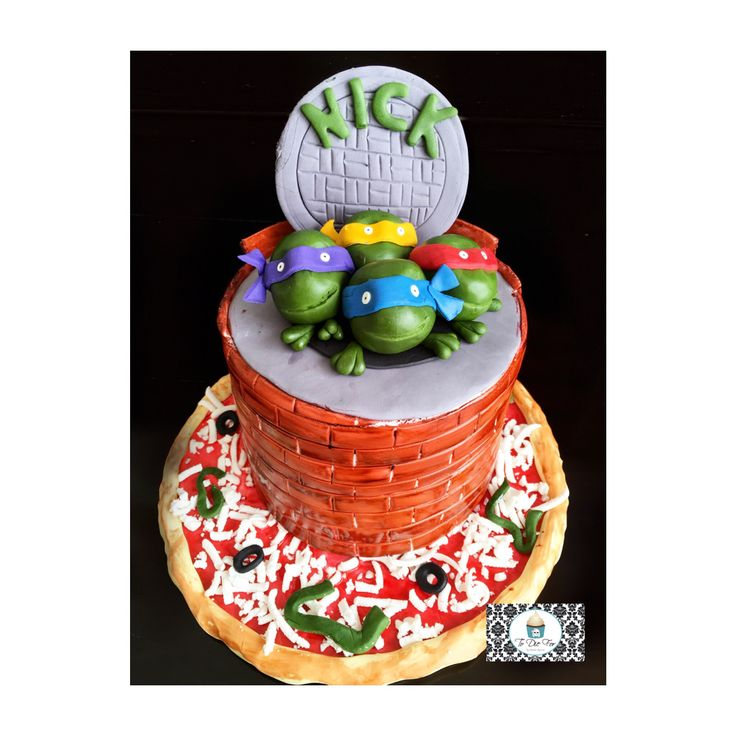 When he's turning 27 but still wants a ninja turtles cake!!
