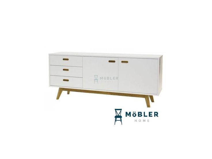 Komoda Bess II bílá - Möbler
