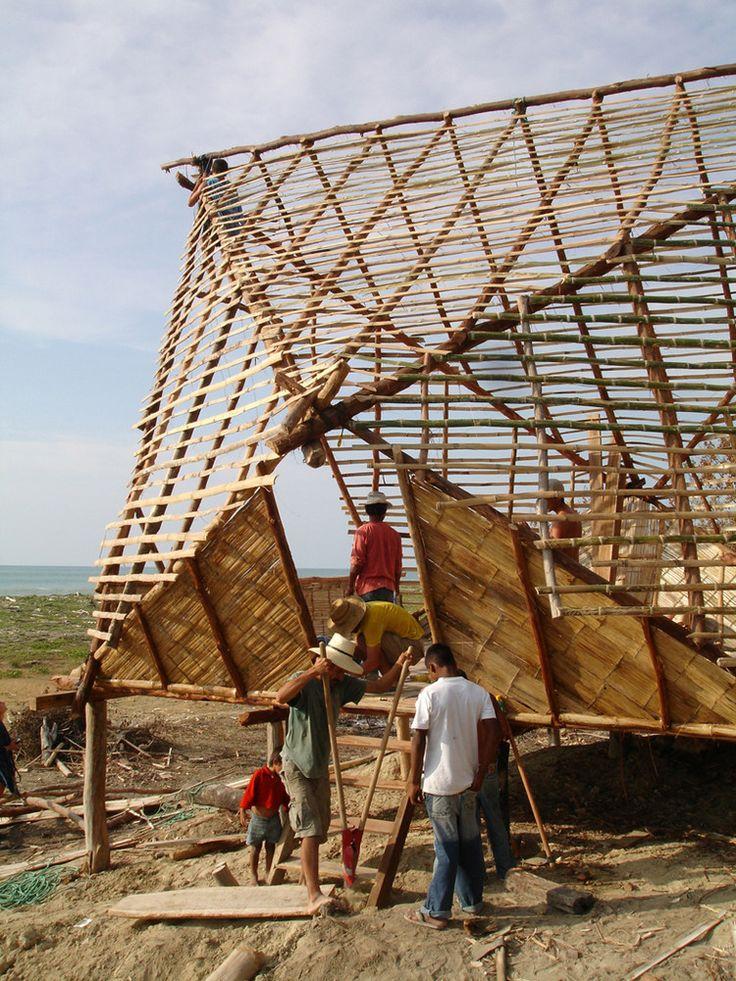 Escuela Nueva Esperanza,Construcción © Pascual Gangotena
