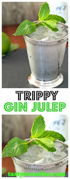 Trippy Gin Julep Happy Thirsty Thursday everyone!!