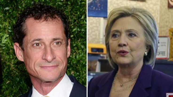 TRUMP CALLED IT MONTHS AGO:  Anthony Weiner Threatens National Security - 10/28/2016 - Bill Clinton is just happy it's not HIS weiner that got him in trouble with Hillary this time....HA HA!!!