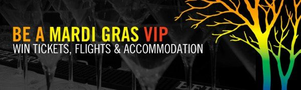 Win Belvedere Vodka Mardi Gras VIP Tickets, Travel and Accomodation