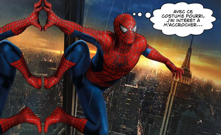 Spider-Man, un super-héros en collants de danse
