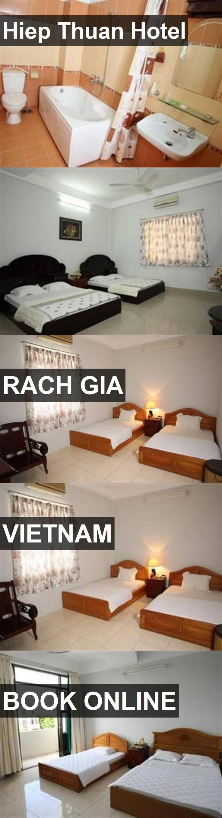 Hiep Thuan Hotel in Rach Gia, Vietnam. For more information, photos, reviews and best prices please follow the link. #Vietnam #RachGia #travel #vacation #hotel