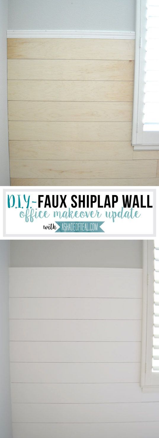 Diy Faux Shiplap Wall Bathroom Wall Ideasbarn
