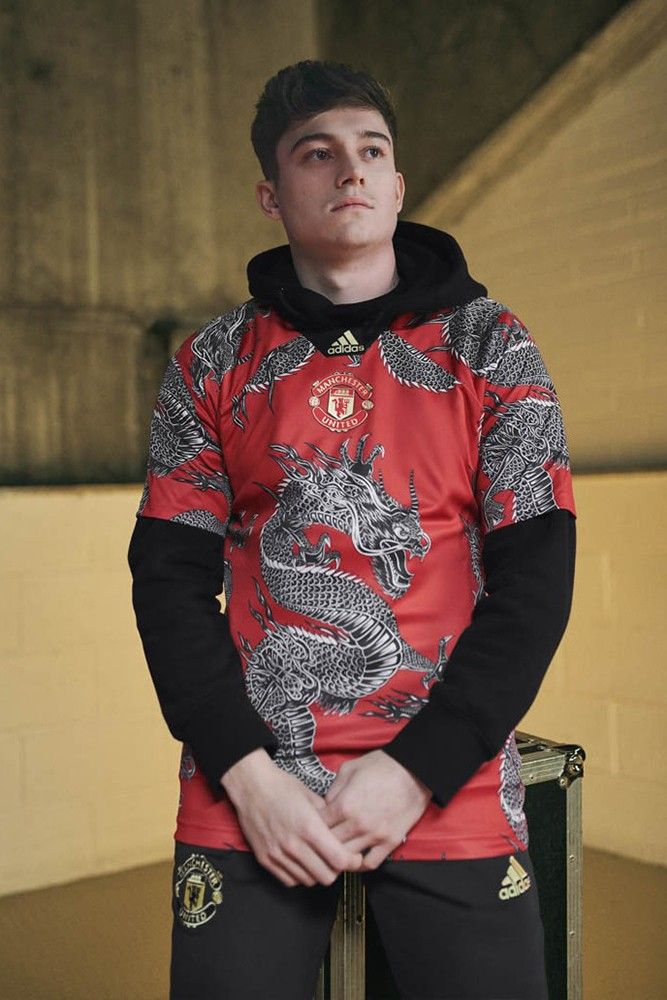 Adidas Debuts Manchester United Chinese New Year Kit In 2020 Fussball