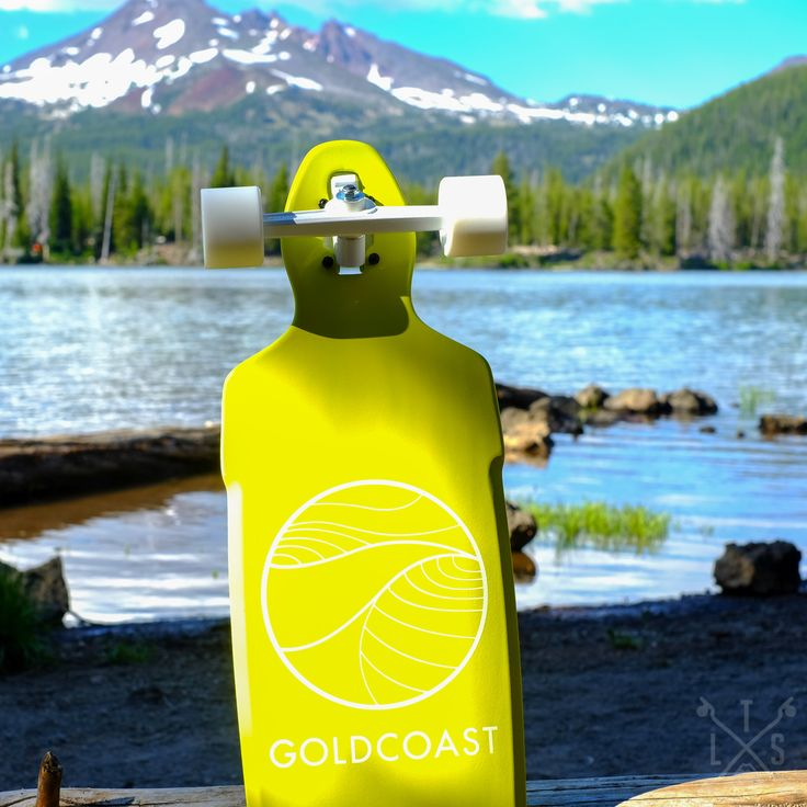 "GoldCoast Prebuilt 40"" Citrus Drop Through Longboard"