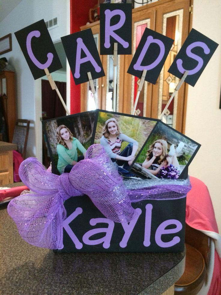Graduation Card Box DIY
