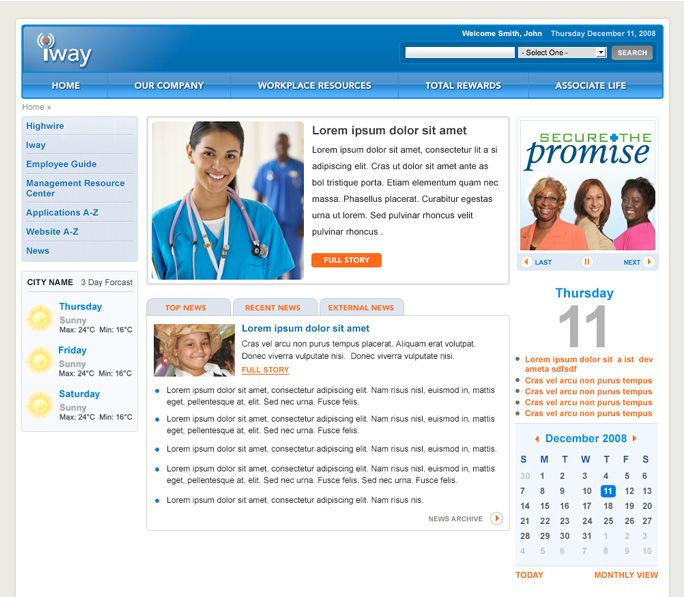Intranet Site Map Example: 11 Best Sharepoint Intranet Homepage Ideas Images On