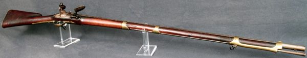 American Revolutionary War Musket made in the Netherlands.