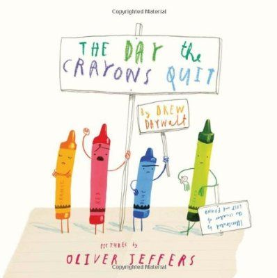 The Day The Crayons Quit:Amazon:Books