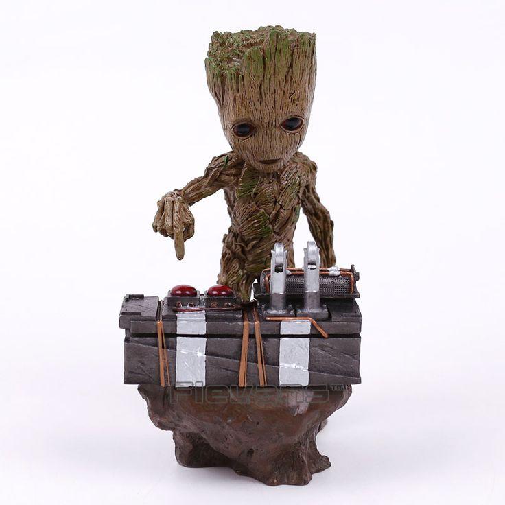Guardians of the Galaxy DJ Groot Collectible Figure //Price: $75.00 & FREE Shipping //     #superheroez #superheroes #marvel #dccomics