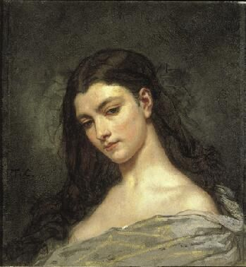 Reverie / Thomas Couture / 1840-41 / oil on canvas