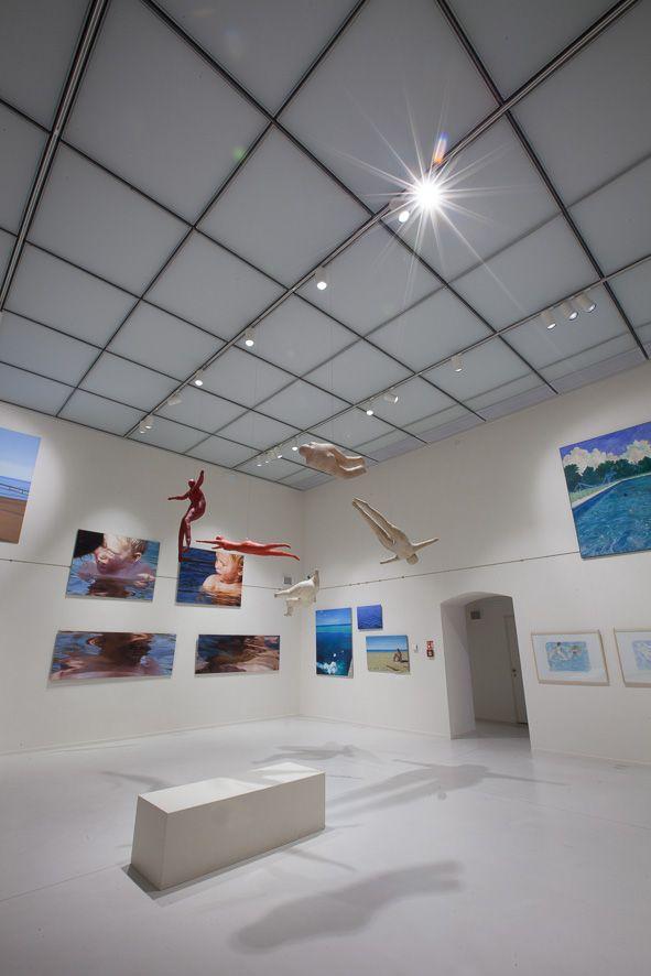 Oblastní galerie Liberec, atelier SIAL #Lighting #muzea #galerie #iGuzzini @iguzzini