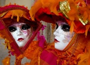 Carnival of Venice, Italy: between February & March    One of the most beautiful festivals in the world, people wear masks and elaborate costumes to hide differences among classes, and there are contests for the best costumes.