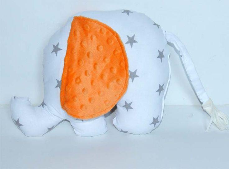 funny elephant poduszka dekoracyjna Słonik