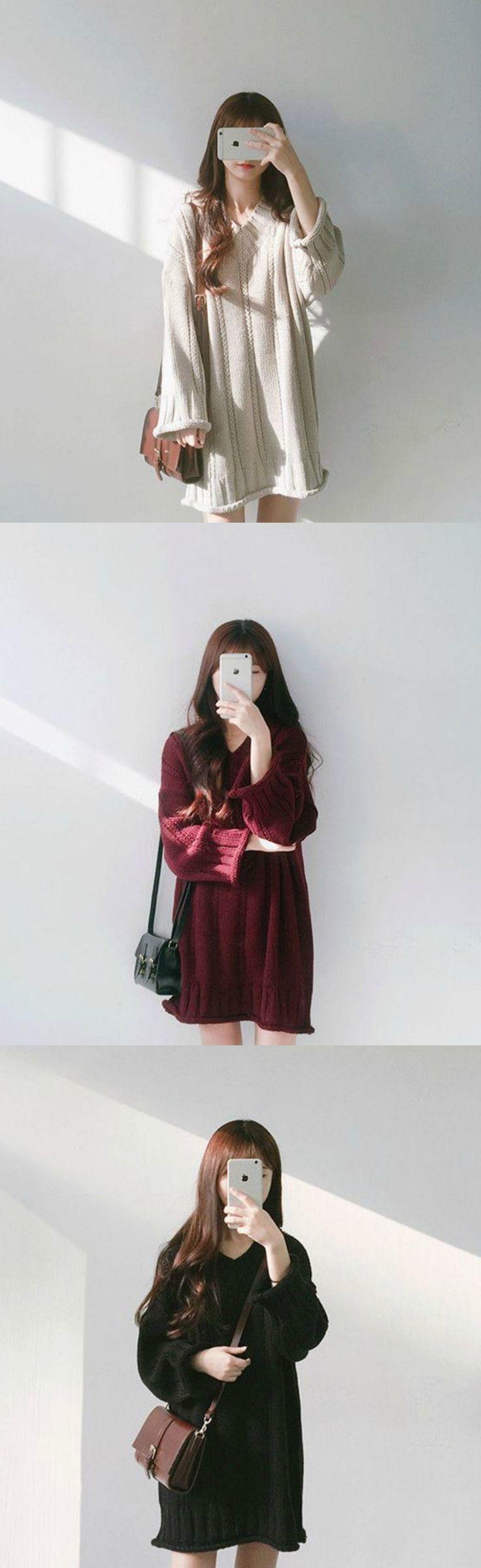 Buy Azusa Boxy Knit Sweater