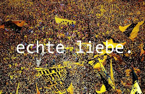 ECHTE LIEBE - TRUE LOVE #BVB #BorussiaDortmund