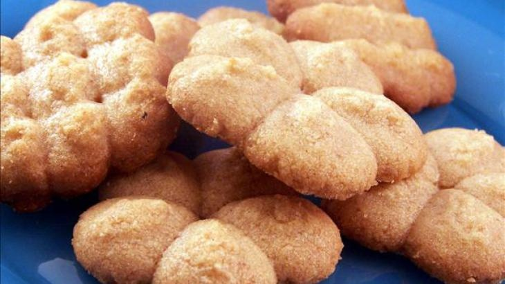 Pressed Peanut Butter Cookies Recipe (yummly)